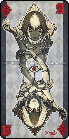 Augen Auf: Ace of Diamonds by yuumei