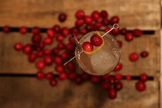 Two seasonal flavours combine in this refreshing highball.
