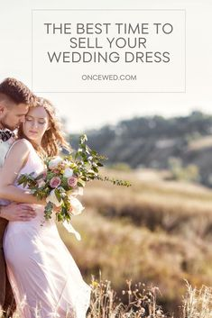 Want to share your beautiful wedding dress with another bride-to-be? If you are unsure about the best time to sell your wedding dress, this ultimate guide will help you decide! Sell Your Wedding Dress, Wedding Dresses For Sale, Boho Wedding Dress, Preloved Wedding Dresses, Purple And Gold Wedding, Wedding Planning Inspiration, Alternative Wedding Dresses, Perfect Bride, Creative Wedding Ideas