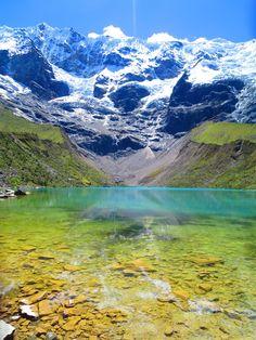 Lake Humantay Peru [OC] [4000x3000]