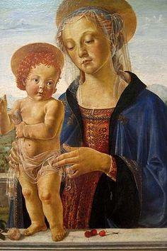 Andrea del Verrocchio - Madonna with Child, ca. 1470's  (1435c.-1488)