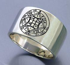 Love Solomon Seal ring