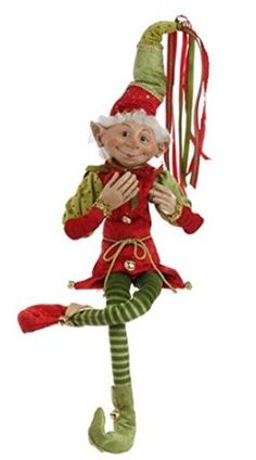 RAZ Imports 36 Posable Green Hat Elf >>> Check out the image by visiting the link. (This is an affiliate link) Peacock Christmas Tree, Elf Christmas Tree, Elf Christmas Decorations, Christmas Store, Christmas Colors, Christmas Crafts, Christmas Ornaments, Holiday Decor, Holiday Ideas