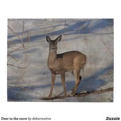 Deer in the snow puzzle
