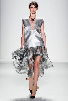Zimmermann Spring 2014 #NYFW #Silver #CoolNeutrals