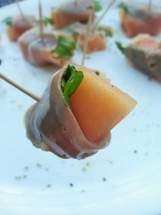 Ripped Recipes - Prosciutto-Wrapped Melon Bites - These are so easy to put together, and they make great appetizers fit for anyone!