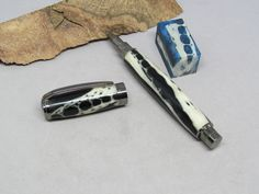 Alligator Jawbone Magnetic Cap Pen with Black Fill - Hand Turned Pen, Gunmetal hardware - WOW by joefrog on Etsy