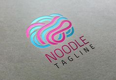 Check out Noodles Brain Logo by DesignsMill on Creative Market