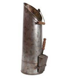 Pojemnik na węgiel z szufelką Charbon