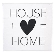 Vtwonen textiel poster 50 x 50 cm - house + love = home - afbeelding 1 ligh Words Quotes, Life Quotes, Sayings, Cinema Box, Licht Box, Letter Board, Letters, Small Space Bathroom, Light Board