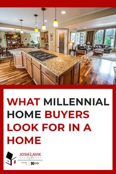 As millennials become one of the most important buyers, it's necessary to understand what they are looking at when touring homes for sale. Check out the top 6 things millennial buyers are looking for. Madison Homes, Commute To Work, Extra Bedroom, Lighting System, Updated Kitchen, Open Concept, Smart Home, Night Life, Touring