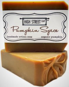 The perfect scent for fall, this pumpkin spice soap also happens to be 100% vegan.