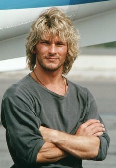 Patrick Swayze in Point Break. Made my 'gina tingle whenever that movie was on TV. - Imgur