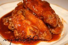 Crockpot BBQ Chicken Wings