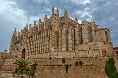 Santa Maria, Mount Rushmore, Cathedral, Mountains, Nature, Travel, Majorca, Naturaleza, Viajes