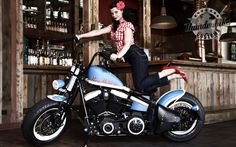 Harley Davidson: Mind-Blowing Custom Harley-Davidson Crossbones Bobber Gallery Collection, Awesome Harley-Davidson Softail Crossbones Roadho...