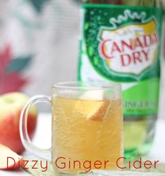 #ad Dizzy Ginger Cider Recipe. Perfect for cold weather!! Fun Cooking, Cooking Recipes, Biggest Loser Recipes, Christmas Party Ideas For Teens, Fall Recipes, Drink Recipes, Holiday Drinks, Christmas Treats, Cold Weather