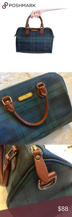 0a1a123adeb8 🐎SOLD🐎 VTG Ralph Lauren Blackwatch Speedy Purse Amazing vintage Polo by Ralph  Lauren