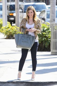 Hilary Duff outfit