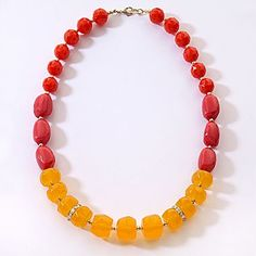 Mixit® Multi-Color Bead Necklace - jcpenney only $15!