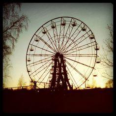 Petrozavodsk Ferris wheel Петрозаводск Колесо обозрения