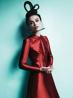 Keira Knightley by Mario Testino for Vogue US (October 2012).