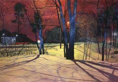 Antti Mikola, in flux, 128 x 176, Oil on canvas