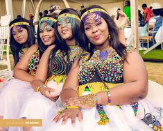 Looking glam at a traditional Zulu wedding in iXopo Zulu Wedding, African Beauty, Traditional, My Style, How To Wear, Fashion, Moda, Fashion Styles, Fashion Illustrations