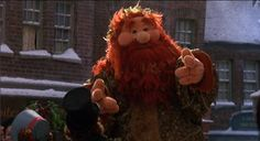 RIP Jerry Nelson Ghost of Christmas Present, A Muppet Christmas Carol Christmas Carol Ghosts, Muppets Christmas, Ghost Of Christmas Present, Christmas Ghost, Christmas Movies, Christmas Presents, Christmas Things, Les Muppets, Ebenezer Scrooge