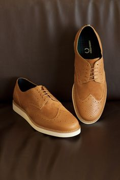 Brogues for men who don't wear brogues