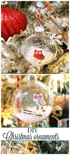 How to make your own Christmas ornaments this year with glitter and glam