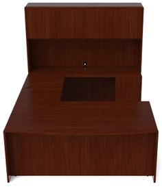 next office desk. veneer ushape desk hutch combo get a quote for your next office furniture