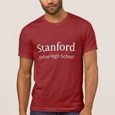 Upgrade your style with Stanford Online High School t-shirts from Zazzle! Browse through different shirt styles and colors. Search for your new favorite t-shirt today! Online High School, T Shirt Diy, Tshirt Colors, Custom Shirts, Shirt Style, Fitness Models, Graphic Tees, Shirt Designs, Casual