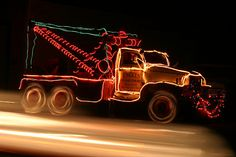 Holiday Tow Truck by DavidDennisPhotos.com, via Flickr