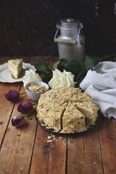 Mandeltorte mit Vanillecreme: Glutenfrei und lecker!
