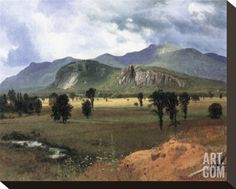Moat Mountain, New Hampshire Stretched Canvas Print by Albert Bierstadt at Art.com