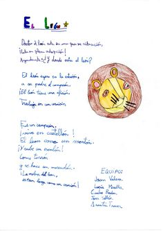 Texto creativo, alumnos de 3º B El león