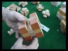 Solución del Rompecabezas, Puzzle de madera, Wooden puzzle. - YouTube
