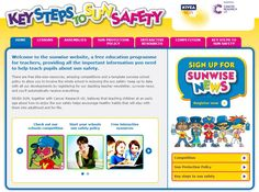 Let The Sunwise Set help your primary school children learn about sun safety in a fun and engaging way. The website features lots of games, stories and activities. There's also a teacher prize draw if you sign up for the Funshine News - a special e-newsletter that is being sent out FREE every week in the summer term to teachers who register.