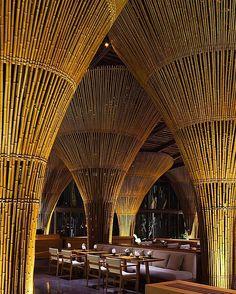 Hay Hay Restaurant and Bar by Vo Trong Nghia Architects. (2015) Location: #DaNang #Vietnam #architectdesigne