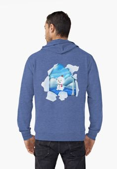 'Tear It! ~ Snowbaby Line' Lightweight Hoodie by We ~ Ivy Presents For Friends, Line S, My Themes, Good Cause, Graphic Shirts, Mode Inspiration, Hoodies, Sweatshirts, French Terry