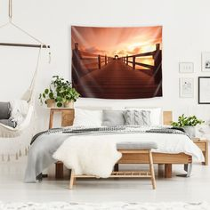 East Urban Home Microfiber Valentina Ramos Tapestry Size: H x W Vibrant Colors, Colours, Map Of New York, Tapestry Design, Tapestry Wall Hanging, Home Decor Outlet, Decorative Accessories, Office Decor, Living Spaces