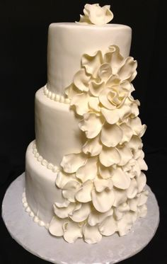 wedding cake Cupcake Cakes, Cupcakes, Wedding Cake Inspiration, Sweet Cakes, Pretty Cakes, Our Wedding, Wedding Ideas, Cakes And More, Cookie Decorating