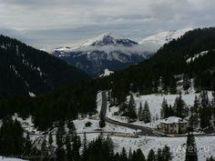 Валь Гардена и Валь ди Фасса под сентябрьским снегом...