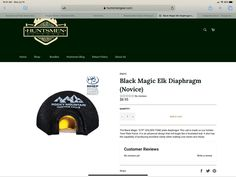 A popular diaphragm call for beginners.  #rockymountainhuntingcalls #hunt #hunting #huntingcalls #deer #elk Hunting Shop, Hunting Calls, Hunting Gear, Hunting Clothes, Good Customer Service, Online Shopping Stores, Black Magic, Elk, Rocky Mountains