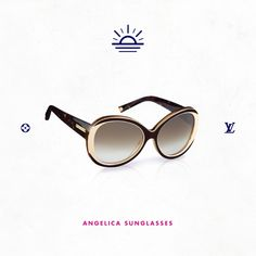 Angelica Sunglasses from the Louis Vuitton Summer 2013 Collection.
