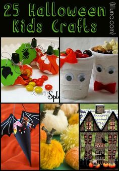 25 kid halloween crafts