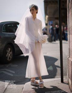 i do: athena wilson by benjamin kanarek for harper's bazaar china october 2015 | visual optimism; fashion editorials, shows, campaigns & more!