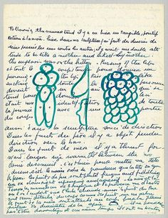 Louise Bourgeois: Louise Bourgeois at Freud Museum - loose sheet