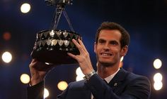 Andy Murray has been named BBC Sports Personality of the Year after inspiring Great Britain to Davis Cup glory, seeing off competition from Jessica Ennis-Hill and boxer Tyson Fury.